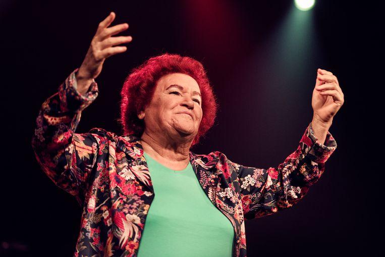 Folkzangeres en linkse activiste Selda Bagcan gold lange tijd als een gevaar voor de stabiliteit in Turkije.  Beeld Damon De Backer