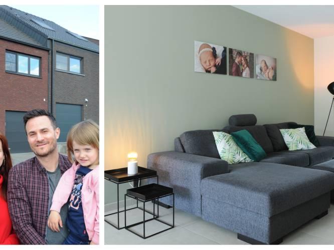 """Brecht (35) en Evelyn (30) bouwden hun huis voor 280.000 euro en hadden nooit verwacht zoveel te kunnen vragen bij verkoop: """"Ons werk wordt dubbel en dik beloond"""""""