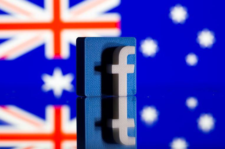 Facebook en de Australische overheid raakten in conflict over het delen van nieuwsberichten door Facebookgebruikers. Beeld REUTERS