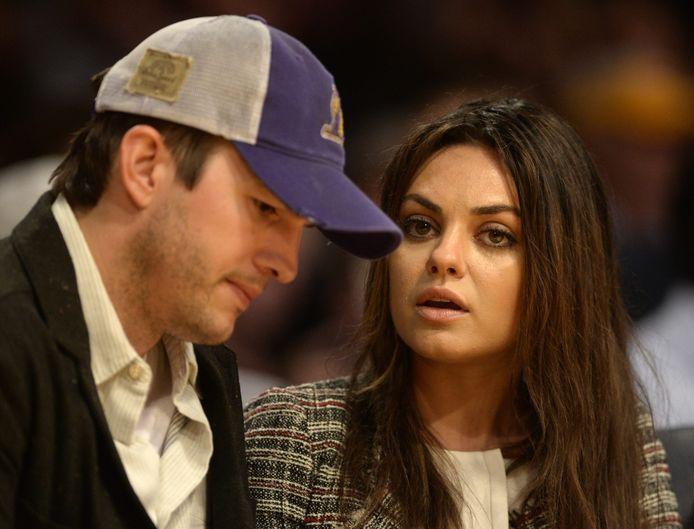 Ashton Kutcher en Mila Kunis.