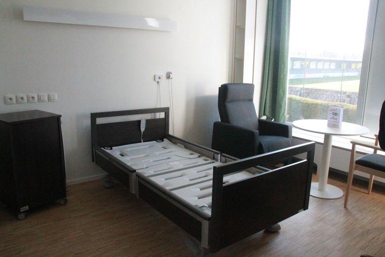 Een kamer in het nieuwe woonzorgcentrum Ceres.