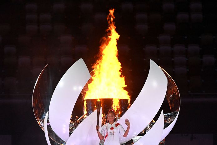 Naomi Osaka a allumé la vasque olympique et bouclé la cérémonie d'ouverture des Jeux Olympiques de Tokyo.
