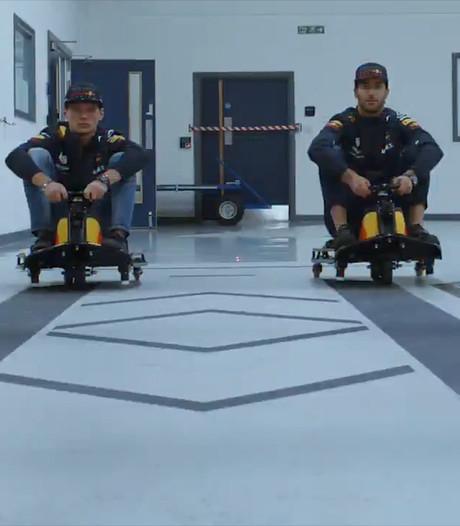 Verstappen en Ricciardo doen wel hele bijzondere race