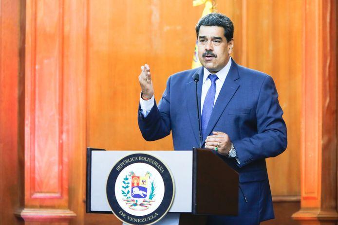 Nicolas Maduro, president van Venezuela