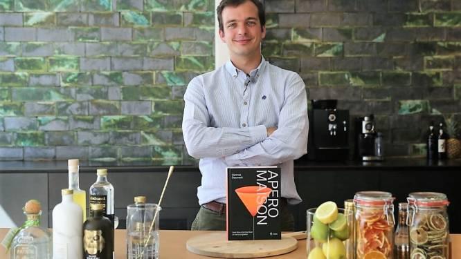 Sommelier Hannes Desmedt stelt Apero Maison voor, boek bundelt tal van tips voor geslaagde cocktailavond