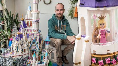 """Giovanni werkte vijf jaar aan Lego-sprookjeskasteel van minstens 100.000 blokjes. """"Nu wil ik nog een 3D-replica van mijn gezicht maken"""""""