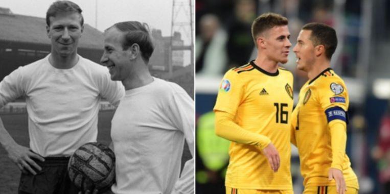 Broers Charlton en broers Hazard.
