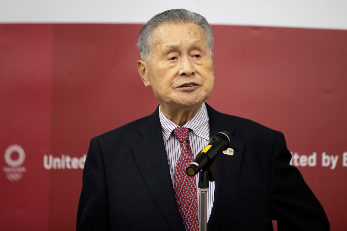 Yoshiro Mori, président du Comité d'organisation des JO de Tokyo 2020.