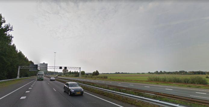 A20 bij Maassluis