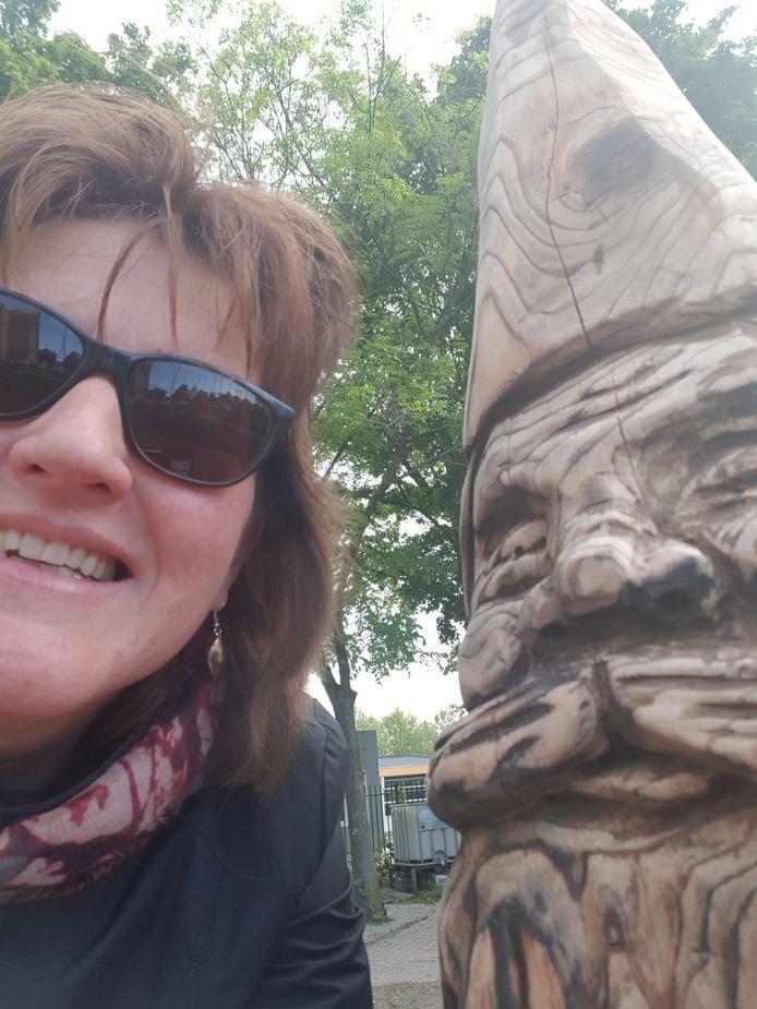 Selfie met Lowieke uit Leerdam.