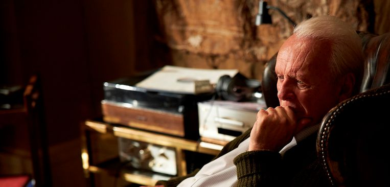 Anthony Hopkins in The Father. Beeld AP