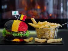 Le burger aux couleurs de la Belgique à manger uniquement lors des matches des Diables Rouges