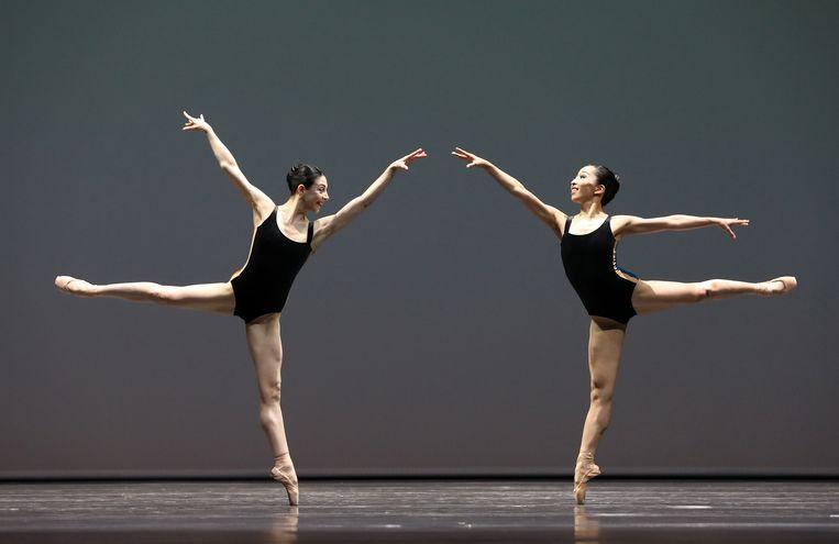 Pas/Parts, choreografie William Forsythe, door Het Nationale Ballet. Beeld Hans Gerritsen