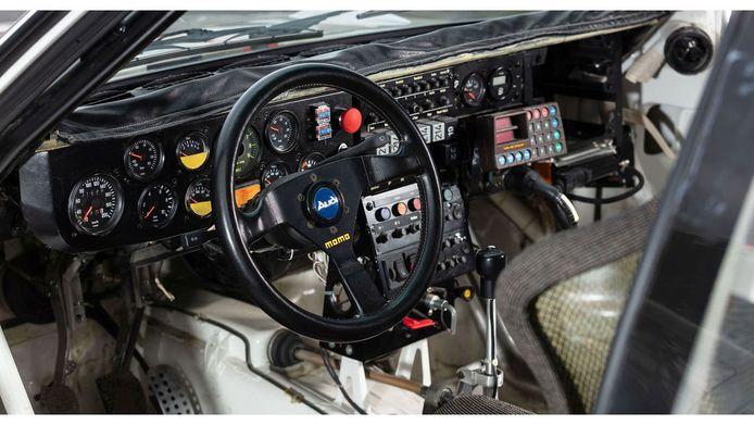 Het functionele interieur van de Audi S1.