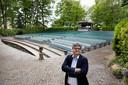 Erik Relou, voorzitter van het openluchttheater in Mariahout