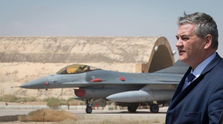 Volgens minister van Defensie Vandeput (N-VA) weigerde ons land vanuit Qatar al meermaals vragen tot ondersteuning. Beeld BELGA