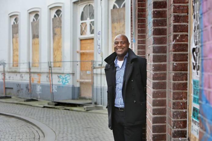 Leo Grunberg in zijn tijd als kwartiermaker in Breda