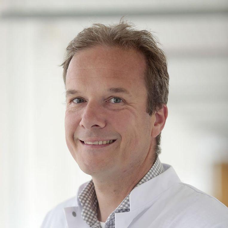 Oncoloog Pieter van den Berg Beeld RV