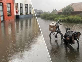 OVERZICHT. Vooral in West-Vlaanderen overlast door intense regenbuien