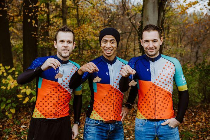Dieter Thollebeek, Luan Doan en Frederik Adriaenssens zijn de gezichten achter DURF Vélo.
