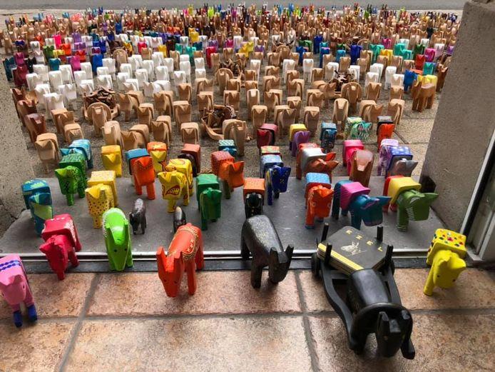 De opbrengst van de verkoop van de ezeltjes gaat naar vzw Autentico, een onderwijsproject in Nicaragua.
