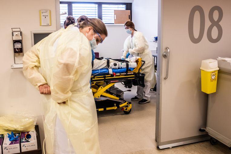 de spoedeisende hulp in Venlo, ziekenhuis Viecuri. Beeld Joris Van Gennip
