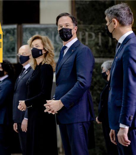 Zo komt het dat er onder tien jaar Rutte veel vakministers sneuvelden, maar van hem veel afglijdt