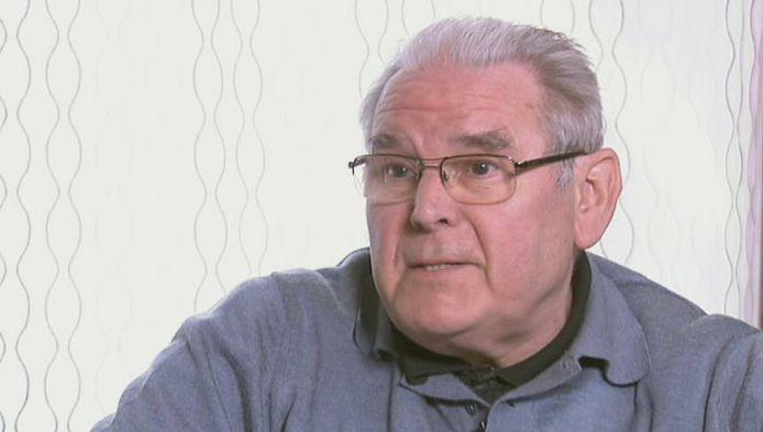 Roger Vangheluwe tijdens het VT4-interview.