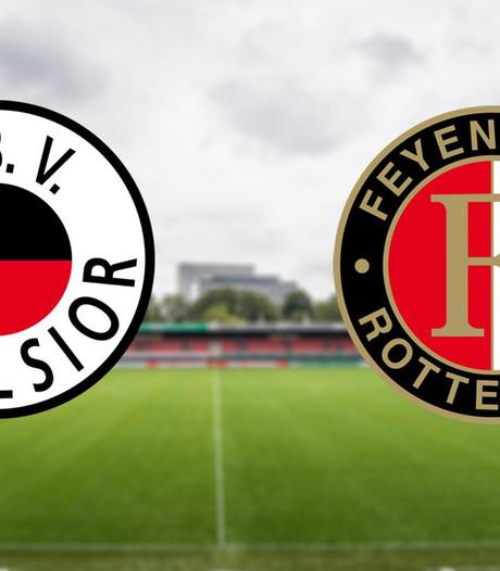 LIVE: Feyenoord met Jones op het kunstgras van Excelsior