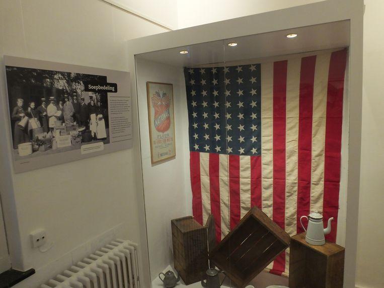 Een kijk in het nieuwe oorlogsmuseum van Nazareth.