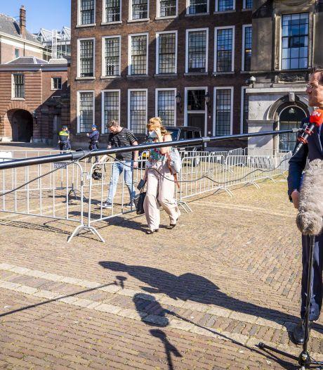 Formatie in slakkengang: gedoodverfde coalitiepartners spraken over 'thema's'