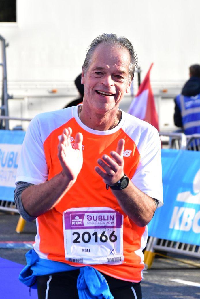 Roel Leeuwis, hier op archieffoto, loopt de marathon van Rotterdam om geld in te zamelen voor het ParkinsonFonds.