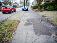 Fietssnelweg of niet, 'de paden langs Apeldoornseweg in Vaassen moeten worden opgeknapt'
