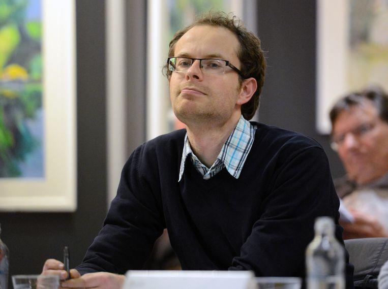Mattias Bouckaert. Beeld Vertommen