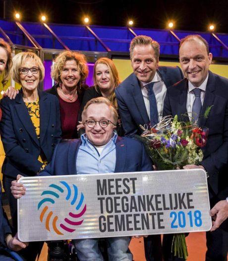 Hardenberg opnieuw de meest toegankelijke gemeente? Zwolle en Harderwijk azen ook op de prijs