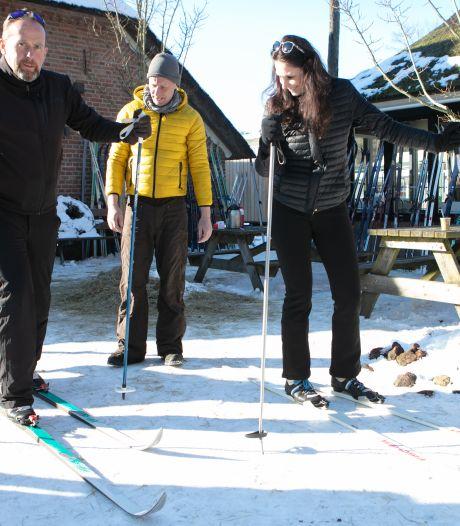 Veel mensen blij van glijpartij in Dalfsen: vanuit hele land interesse