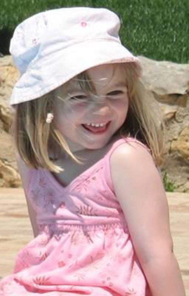 Madeleine McCann verdween op 3 mei 2007. Beeld EPA