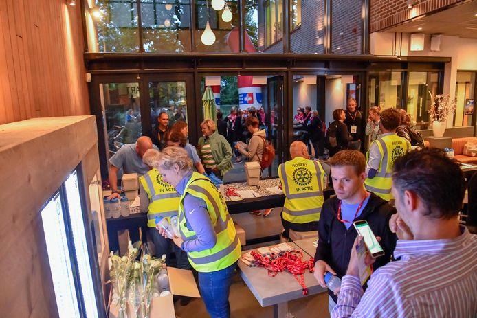 Een eerdere sponsorloop voor KWF Kankerbestrijding in Eindhoven.
