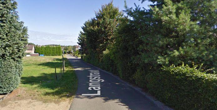 De Langstraat in Oudsbergen.