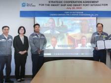 Rotterdam sluit deal met grote Koreaanse werf voor ontwikkeling van robotschepen