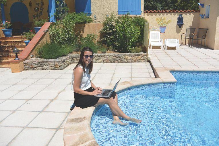 Suzanne van Duijn in Frankrijk. Beeld