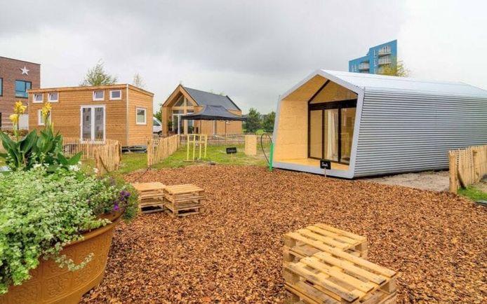 Tiny houses in Dordrecht.