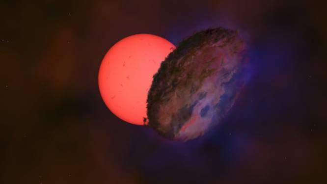 Astronomen ontdekken 'knipperende reuzenster' 100 keer zo groot als onze zon