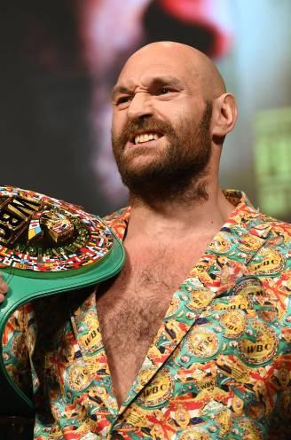 Bokskoning Tyson Fury, de man zonder hobby's, met drie zonen met dezelfde naam en die vannacht zijn titel van onverslaanbaar wil behouden