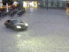 Onrust op terras Turnhout, vlak bij Nederlandse grens: auto 'drift' over uitgaansplein