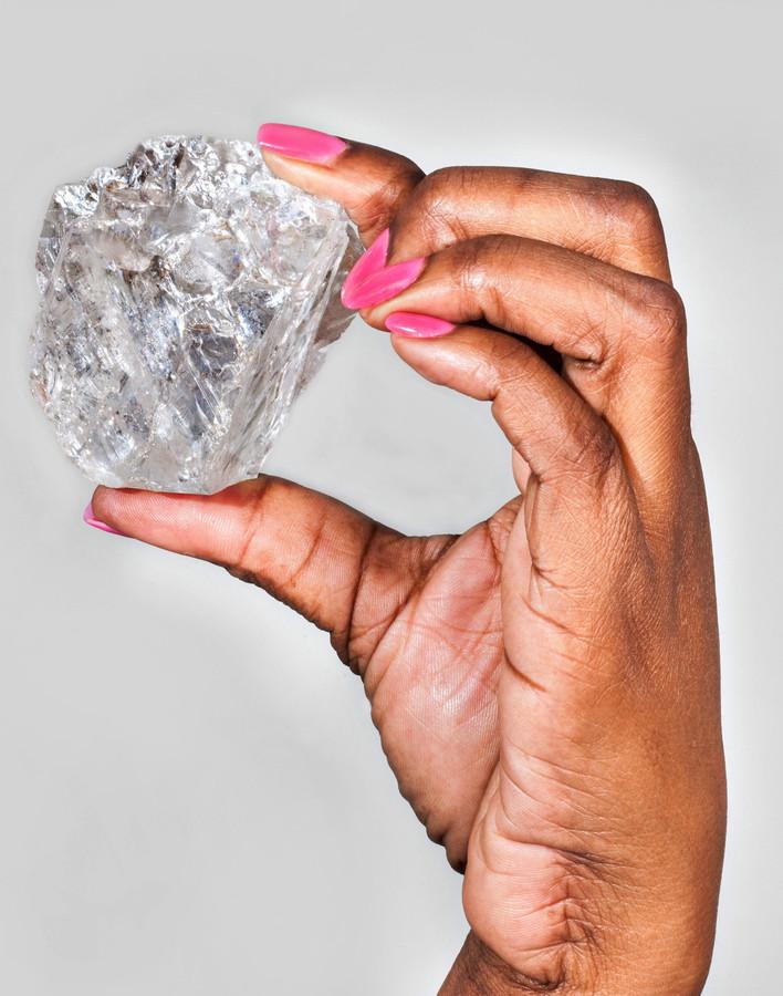 Sommige diamanten, zoals de Lesedi La Rona, brengen recordbedragen op