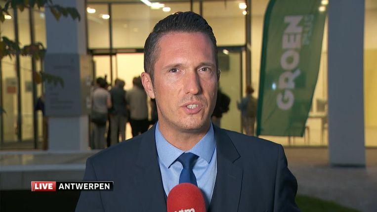 Jan De Meulemeester. Beeld VTM Nieuws