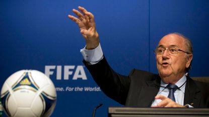 """Sepp Blatter ziet """"problematische en gevaarlijke"""" videoref als bedreiging voor het voetbal"""