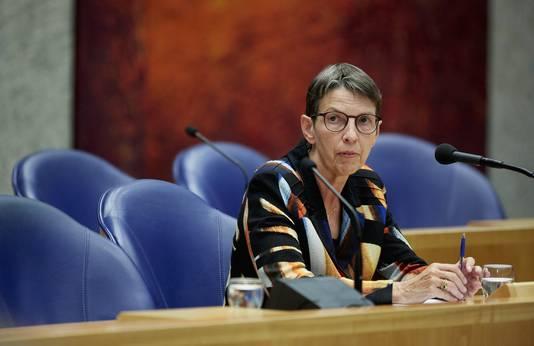 Staatssecretaris Jetta Klijnsma van Sociale Zaken en Werkgelegenheid.