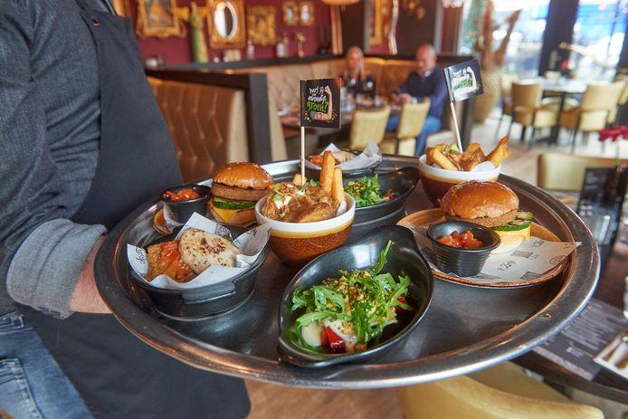 Restaurant 't Zusje serveert tijdens de Nationale Week Zonder Vlees uitsluitend gerechten zonder vlees en vis.